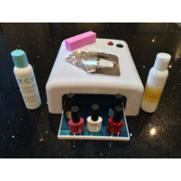 UV GEL Starter Kit with Lamp and Accessories