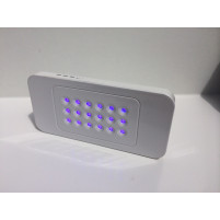 White 5W Portable LED Nail Lamp, Perfect for Travelling Iphone size